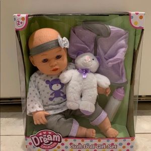 Other - Soft Doll Gift Set